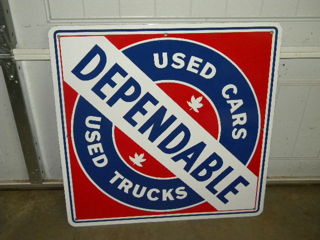 Used Car Signs